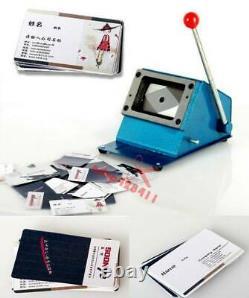 54x86mm Pvc Carte D'identité De Visite Manuel Cutter Nom Carte De Crédit Cutter Machine