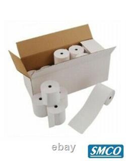 57 X 38 MM Carte De Crédit Pdq Rolls Thermal Paper Terminal Till Receipt R130 Bysmco