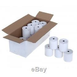 57mm X 40mm Thermique Pdq Papier Carte De Crédit Till Rolls Streamline Machines 57x40mm