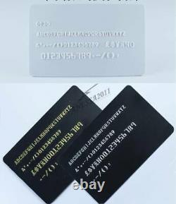 68ds Caractères Manuel Stamping Machine Pvc / ID / Carte De Crédit Code Embosseuse Imprimante