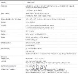 6x Lot Ingenico Moby 70 M70 Pos Tablet Mobile Paiement Terminal Tmq-708-08860b