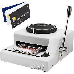 72 Lettre Manuel Embosser Machine Pvc Carte-cadeau Carte De Crédit ID Vip Embossing Magnétique