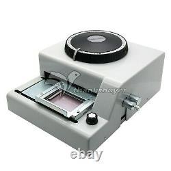 72 Lettre Manuel Embosseuse Machine Pvc Carte Cadeau ID Crédit Vip Emboutissage Embosser