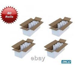 80 Till Rolls 57mm X 57mm Papier Thermal Cash Register Receipt Printer Bpa Gratuit