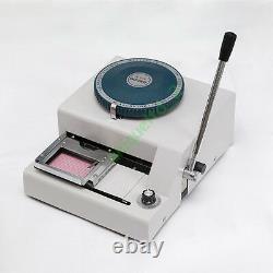 80ce Carte Pvc Embosseuse Machine À Embosser Emboutissage ID Crédit Vip Magnétique