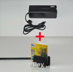Bluetooth Mini400b Dx4bportable Lecteur De Carte + Lecteur De Carte Magnétique / Écriture Msre206