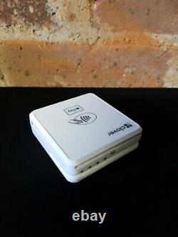 Brand New Clover Go Rp457 Sans Contact + Chip + Swipe Card Reader Blanc