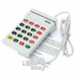 Carte De Crédit Usb Magnetic Stripe Card Reader Avec Numeric Keypad Pos