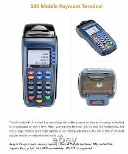 Carte Sans Fil Débit Crédit Machine Mobile Terminal 595 $ Remis À Neuf