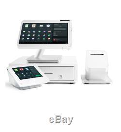 Clover Mini 3g C301 Carte De Crédit Pos Terminal Écran Tactile Withprinter- Nouveau