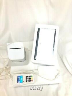 Clover Point Of Sale Système Complet C100 Pos Station P100 Imprimante Et Lecteur De Cartes