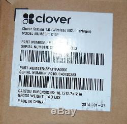 Clover Pos 1.0 Système C100 Point De Vente Station P-100 Registre Imprimante