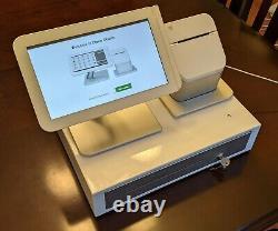 Clover Pos C100 & P100 Système Imprimante Cordon D'alimentation + Cash Register Livraison Gratuite