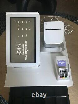 Clover Pos System / Station (terminal, Lecteur De Cartes, Registre, Imprimante)