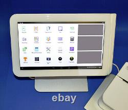 Clover Station 1.0 C101 Pos System Tiroir-caisse D100 + Imprimante & Lecteur De Carte Fd40
