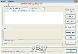 Cpu Emv Mcr200 Puce IC Puce Bande Magnétique Carte Lecteur Tracks 1,2,3
