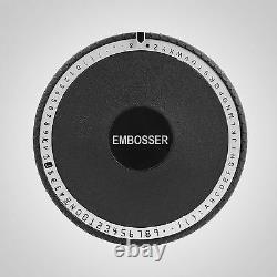 Embosser De Machine D'embossage Manuel De Timbre De 72 Caractères Vevor Pour La Carte De Pvc De Crédit