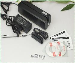 Ensemble Msre206 Lecteur De Carte Magnétique / Writer & Mini400b Bluetooth Collector