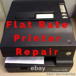 Epson Tm-u950 Flat Rate Réparation, Y Compris Toutes Les Pièces Et La Main-d'œuvre 6 Mois Warr. M63ua