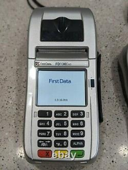 First Data Fd130 Duo Et Fd-35 Pin Pad Credit/debit Card Pos Terminal Read