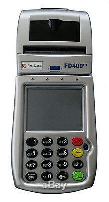 First Data Terminal Sans Fil Cdma Fd400gt