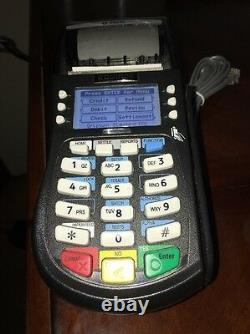 Hypercom T4220 Emv, Dual, Ip/dial Terminal Avec Lecteur De Cartes À Puce (equinox)