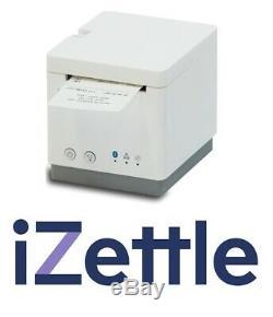Izettle 2 Pouces Star Micronics MC Imprimer Bluetooth Réception Imprimante Blanc