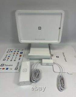Kit Stand Carré Avec Puissance Pour Ipad Air Gen 1 9.7, Ou Air 2 Ou Ipad Pro 9.7