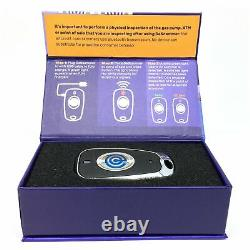 Kjb One Touch Reader Credit Card Skimmer Protection Avertissement De La Descammer Fob