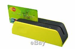 La Plus Petite Carte À Bande Magnétique Lecteur Msr X6 + Mini4b Lecteur Magnétique
