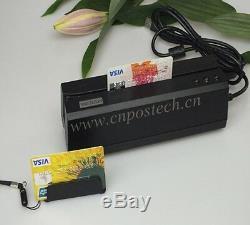 Lecteur De Carte Magnétique Bundle Msre206 Et Bluetooth Sans Fil Lecteur Mini400b Dx4b