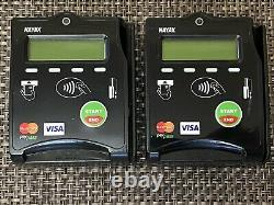 Lot De 2 Nayax Nayaxvposr5 Distributeur Automatique Emv Carte De Crédit / Lecteur De Puce