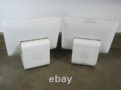 Lot De 2 Square S015 Ipad 30 Pin Connector Lecteur De Carte Pos Stands Only Look