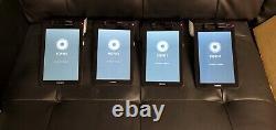 Lot De 4 Scanner De Lecteur De Carte De Crédit Sans Fil Poynt Smart Terminal P3301 Pos