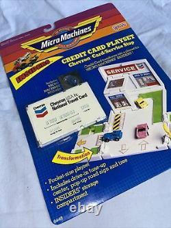 Micro Machines, Galoob, Insiders, Cartes De Crédit Playset, Bnib, Bon État