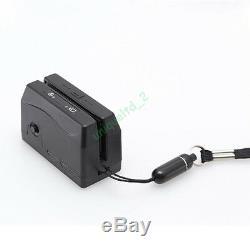 Mini300 Dx3 Plus Petit Portable Magnétique Magstripe Card Reader Collect 3 Pistes