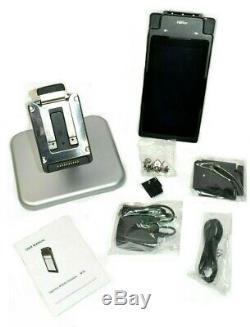Moby 70 Ingenico Pos Lecteur Tablet Terminal Mobile Paiement Avec Base & Accessoires