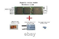 Msr Lecteur De Carte Magnétique 1. MM D'épaisseur