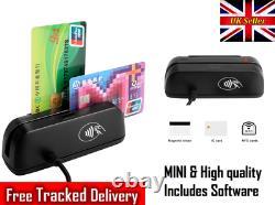 Msr Magnetic Stripe 3 Track Reader IC Contact Chip Writer Smart Card Rfid Emv