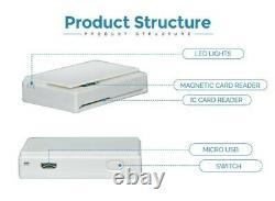 Msr Magnétique Stripe Reader IC Chip Writer Emv Mpr100 Bluetooth Mobile Sdk Mini