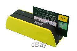 Msr09 X6 Le Plus Petit Bande Magnétique Carte Lecteur Encodeur Msr206 Usb-powered