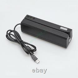 Msre206 Hico Bande Magnétique Carte Lecteur Encodeur 3 Pistes Msr206 605 606