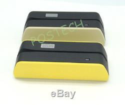 Msrx6 Encodeur Lecteur De Carte De Crédit Powered Usb + Bluetooth Plus Petit Lecteur Mini400b