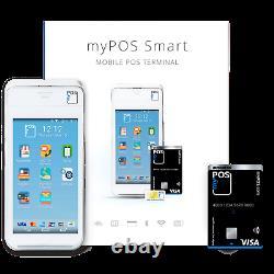 Mypos Smart Payment Terminal Seulement 0,99% Frais De Transaction, Pas De Contrats