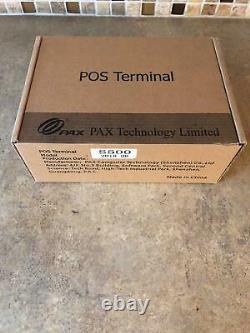 Nouvelle Marque Pax S500 Pos Credit Card Machine Terminal Livraison Rapide Ule2-14