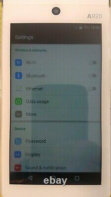 Pax A920 Android Sans Fil Pos Smart Mobile Tablet Card Terminal + Base De Charge