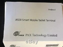 Pax A920 Terminal Sans Fil Neuf