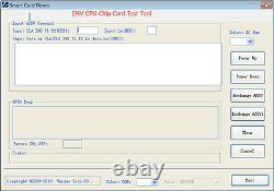 Pistes 1,2,3 Emv Smart IC Chip Card & Magnetic Stripe Card Reader Writer Encoder