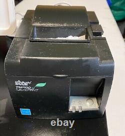 Place Pos Système Avec Ipad Stand, 2 Lecteurs De Puce, Le Tiroir-caisse, Réception Imprimante