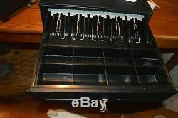 Place Pos Système Avec Ipad Stand, Chip Reader, Le Tiroir-caisse, Et Kitchent Imprimante